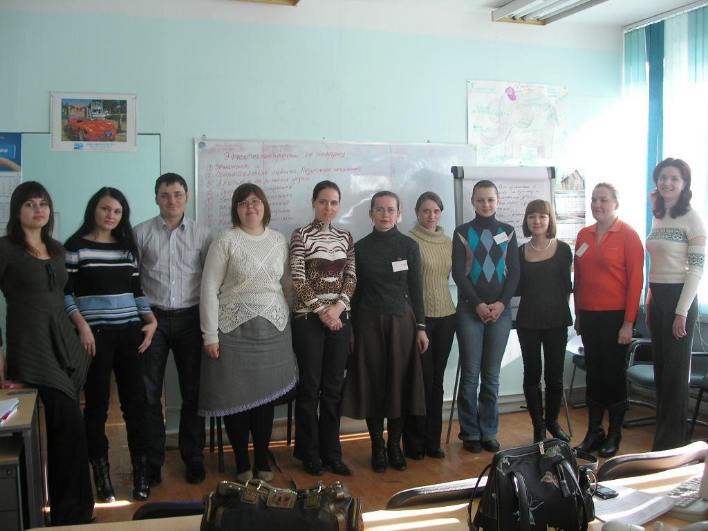 Фото с тренинга во Владивостоке